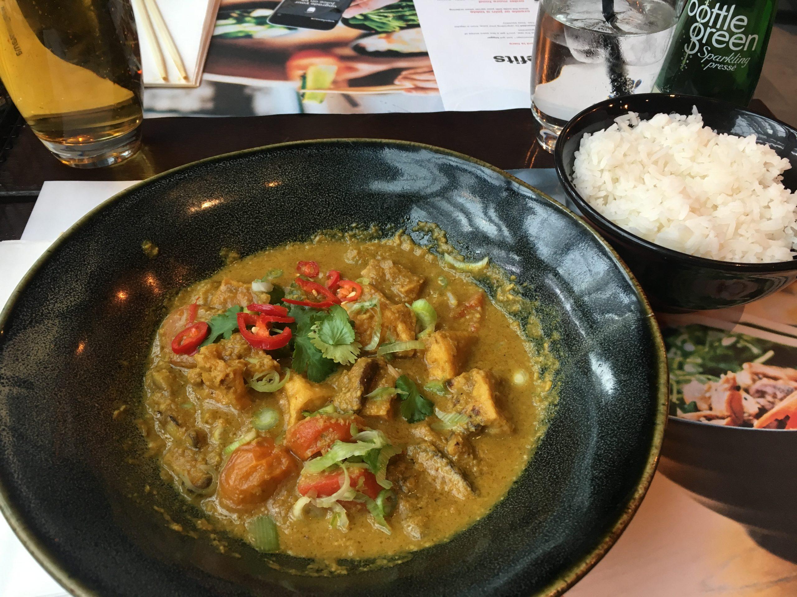 Wagamama Yasai Samla Curry